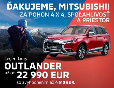 LEGENDÁRNY Mitsubishi Outlander