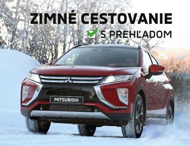 Pripravte Mitsubishi na zimu