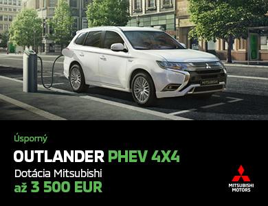 Mitsubishi Outlander PHEV UŽ OD 31 990 EUR*!